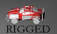 free blend model stew2000 car rigged