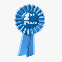 Prize Ribbon 3D models