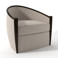 Paris lounge chair by Robert Scott