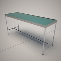3d cattelan italia saphire console table model