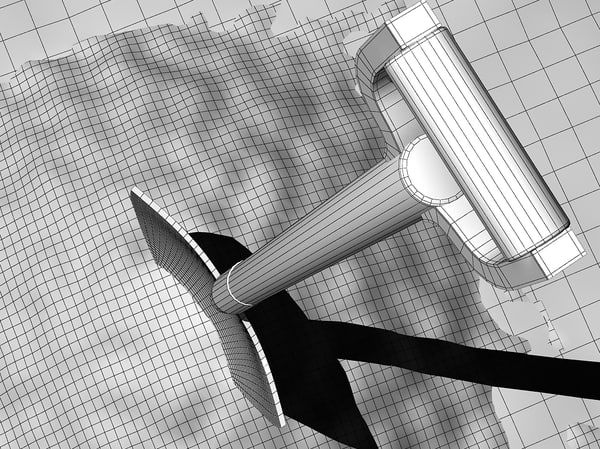 3d model shovel soil - Shovel & soil... by fabelar