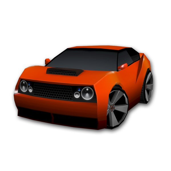 race car max  Race Car Icon Png