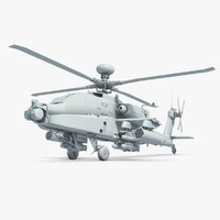 apache helicopter 3d model