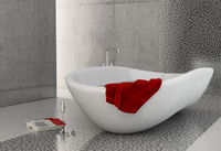 scene bathtub 3d 3ds