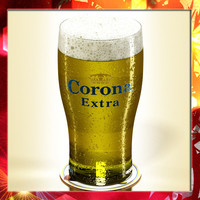 3d model corona pint beer