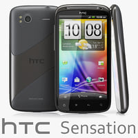 HTC Sensation black and white version