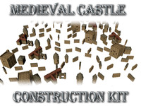 max medieval castle construction kit