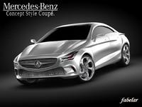 Mercedes Concept style coupè