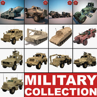 3d military vehicles