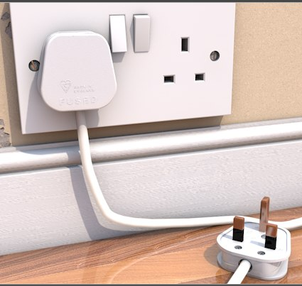 cinema4d wall plug - Plug... by blaggy