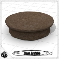 stone turntable 3ds free