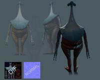 alien character 3d max