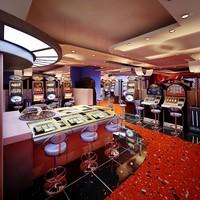 modern casino slot 3d max