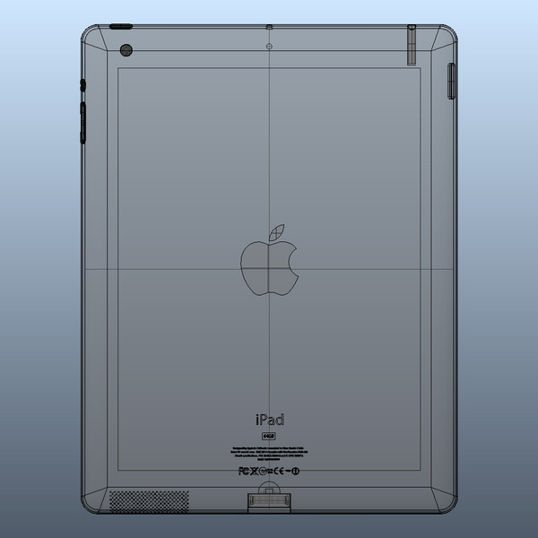 solid ipad 3 2 3d model - iPad 3 / 2 3G & 4G & Wifi Pack Solid Nurbs igs 3dm... by Studio 3D Plus