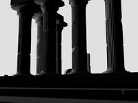 ancient ruins 3d model