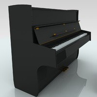 3d piano hinges keys