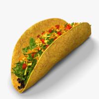 3d taco