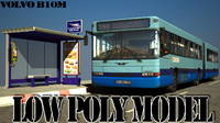 3ds max b10m city bus