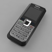 3d nokia cell phone model