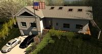 house 3d rvt