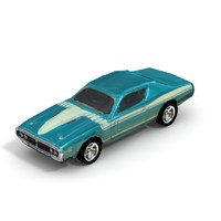 1971 Dodge Charger - Low Poly