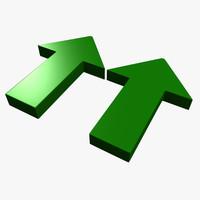 arrow symbol materials max free