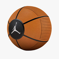 ball basketball jordan 3d max