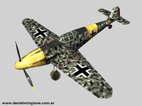 BF 109 (Low Poly)