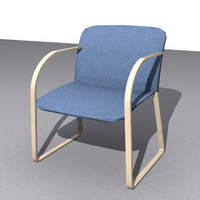3ds max chair library office