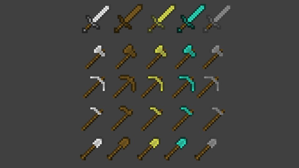 Minecraft Landscaping Tools : Minecraft tools