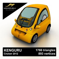 2012 kenguru cruiser car 3d model