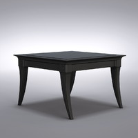 Restoration Hardware - Klismos Square Side Table