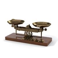 vintage studio scales 3d model