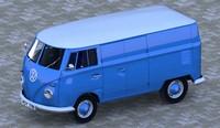 volkswagen vans 3d model