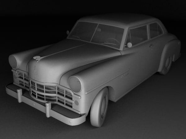 3d dodge wayfarer 2-door sedan - Dodge Wayfarer Mk2 2-door sedan... by 3dmodpavel84