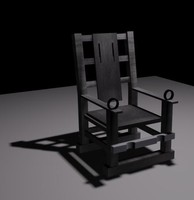 3d electric chair