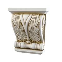 3d classic baroque corbel