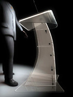 luxury lectern / podium