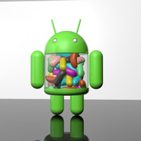 maya android jellybean mascot 2