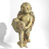 3d angel statue