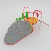 kit climbing 3d model