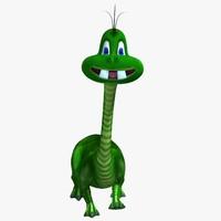 3d dinosaur