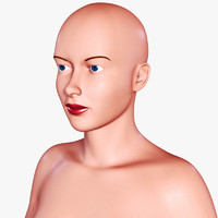 3d model woman female