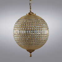 Restoration Hardware - 19th C. Casbah Crystal Chandelier Large