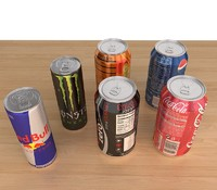 6 cans