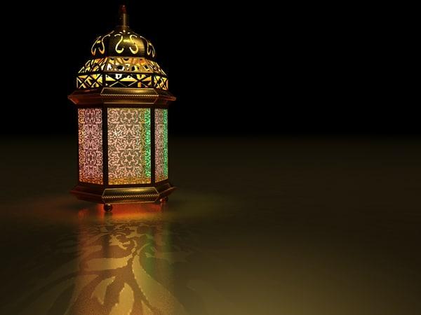 3dsmax Islamic Lantern Ramadan Lighting