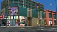 street scene building max