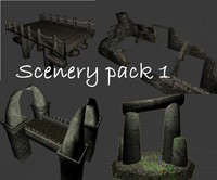 Medieval Scenery Bundle