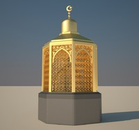 station abraham mecca 3d model