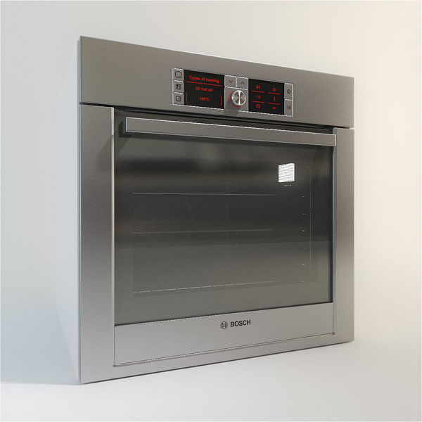 Kitchen Appliances Set: 3ds Max Bosch Kitchen Appliance Set